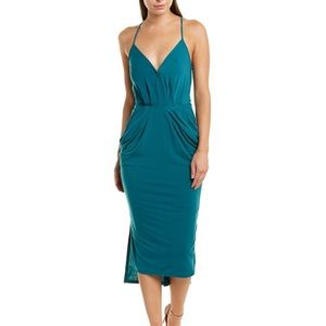 NWT BCBGGeneration Surplice Midi Dress